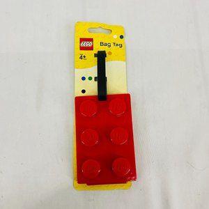 Lego Bag Tag Lego Red Block Luggage Tag Travel